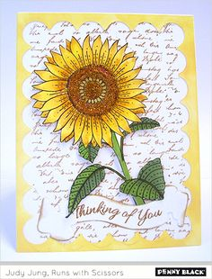 #pennyblack stempel 40-519 Sun Glow | die 51-352 Birds & Banners