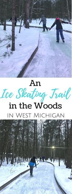 Find out why you will want to add the ice skating trail at Muskegon Winter Sports Complex in West Michigan to your list.Learn more about an ice skating trail in the woods located in West Michigan at Muskegon Winter Sports Complex.