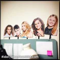 These Idols are flat out excited. Check out these masks that we hand out to fans. #idol