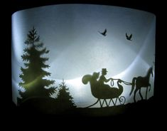 Silhouette Horse and Sleigh Cake - How To CAKE That