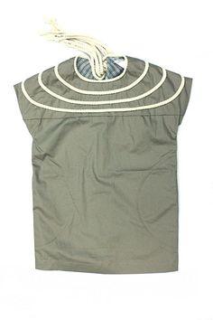 Kico Kids Rope Shift Dress w/rope trim
