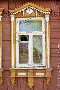 Traditional window frame (Nalichnik) from Egoryevsk, near Moscow, Russia #30