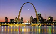 St. Louis Arch; St. Louis, Missouri