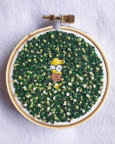 Funny Embroidery, Basic Embroidery Stitches, Creative Embroidery, Hand Embroidery Stitches, Embroidery Hoop Art, Hand Embroidery Designs, Embroidery Techniques, Cross Stitch Embroidery, Embroidery Patterns