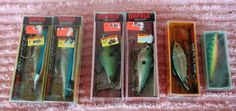 Fishing Tackle Rapala Fishing Lures New in Box 6 PC Skitter Pop Rattlin Rap More