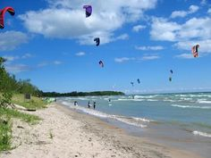 Sandbanks Provincial Park, Ontario: Something local to enjoy! Ontario Parks, Canada Ontario, Prince Edward County Ontario, The Places Youll Go, Places To Visit, Family Vacation Destinations, Vacations, Ontario Place, Discover Canada
