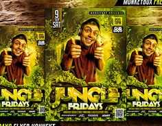 "Check out new work on my @Behance portfolio: ""Jungle Fridays Flyer Konnekt"" http://on.be.net/1QT1fKo"