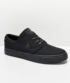 new arrival 60e0d 79275 Men's Nike SB Stefan Janoski Black Canvas Shoes - Mens size 8.5 Janoski  Black, Nike