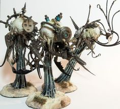 The heretek genetors of House Sinekai require specialised servitors to maintain their nightmare menagerie. Geist servitors drift patiently around the animal pens, providing nutrients, extracting specimens and performing simple surgeries. The geists are also used in times of …
