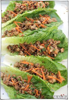 Veg Wraps, Vegetarian Lettuce Wraps, Lettuce Recipes, Chicken Lettuce Wraps, Tofu Recipes, Wrap Recipes, Real Food Recipes, Vegetarian Recipes, Dinner Recipes