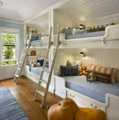 Bellyitch: Children's Room Decor: 16 Creative Bunk Bed Spaces