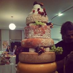 #fallonandbyrne Instagram photos | cheese cake at our Christmas Extravaganza