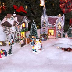 Christmas Village Setup Tips