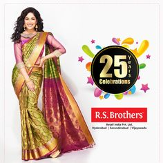 Silver Jubilee Celebrations Only @R.S Brothers! Celebrations never seen before lots of offers awating for you come join us in celebrations. Hurry up! #offers till October 26th only!