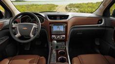 2015 Chevy Traverse interior