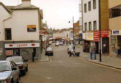 An Oldish Photo of Crown Hill Croydon Surrey England