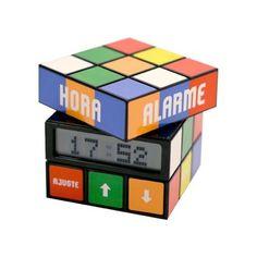 Despertador cubo mágico!