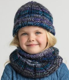Ribbed Beanie and Cowl                                                                                                                                                     More