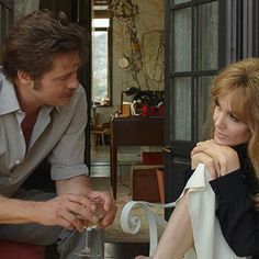 Movies: Angelina Jolie Pitt and Brad Pitt made as many jokes as possible while filming By the Sea love scenes