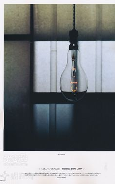 Old shot of an incandescent light bulb. I feel like these are making a comeback in some new bars/pubs above the bars.