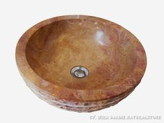 Sink Bowl Outside Alur Marmo Color : Red Size: Ø 35 cm X H. 15 cm Ø 40 cm X H. 15 cm Ø 45 cm X H. 15 cm