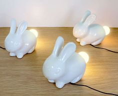 The Bunny Light Will Add a Touch of Spring Freshness to Your Home #design trendhunter.com