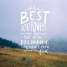 the best journeys