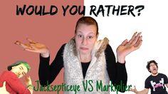 JACKSEPTICEYE VS MARKIPLIER | Would you rather? #1