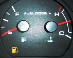 "how far you can travel in an emergency situation when that gas light comes on and the indicator is over the ""E"""