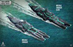 BP Missile Cruiser by *pixel-saurus on deviantART