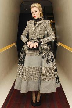 Carine Roitfeld serata in onore del libro CR Fashion @ny