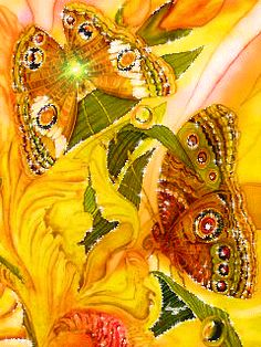 """Download animated wallpaper 240x320 """"Beautiful Butterflies"""" for mobile phones. Insects"""