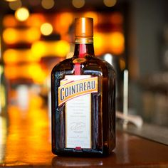 Cointreau: SAY IT RIGHT: KWAN-troh A quality triple sec, well-regarded for its balanced orange flavor.