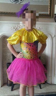 girls dance costume age 6-7   eBay