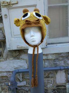 Free Crochet Character Hat Patterns   Fiber Deviant: FO: Crochet Giraffe Hat