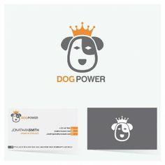 Beau logo de chien