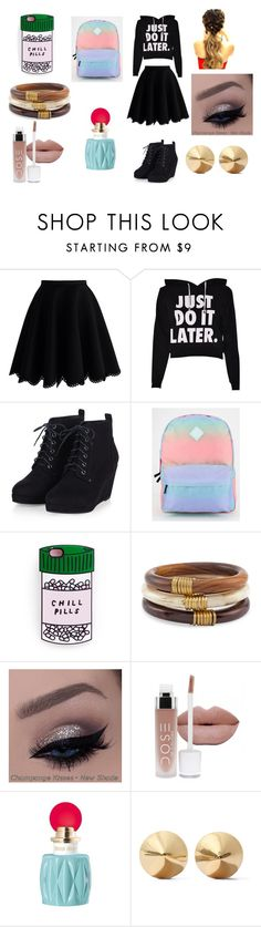 """""""How I Would Dress. If Possible."""" by alliephil ❤ liked on Polyvore featuring Chicwish, Vans, Chico's, Miu Miu and Eddie Borgo"""