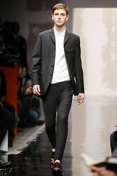 prada suit - if I were tall and thin - the answer is yes!