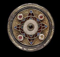 Anglo-Saxon-Faversham-disk-brooch