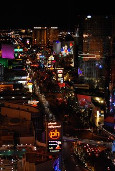 Las Vegas- we stayed in Mandalay Bay hotel pictured here on the top right of the strip. I have never experienced such luxury!