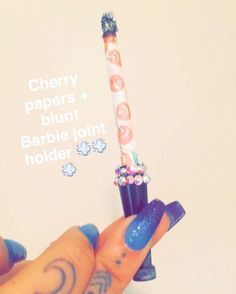 Protect your pretty nails from burning and yellowing w/ our joint and blunt… I need one of these asap