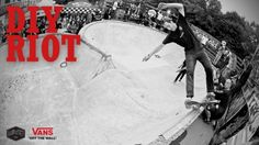 DIY RIOT 2017 – Skating a flaming Bowl | Bank of Fire, Death Race, Barrel Jump Contest – Titus: Source: Titus