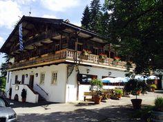 Wildbad #Kreuth Gasthaus Altes Bad mit #Biergarten