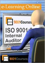 ISO Auditor Training | ISO 9001 Training through eLearning Online Courses | 9001Courses