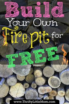 Build Your Own Backyard Fire Pit Using Free Materials »