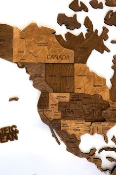 3D Walnut Wooden Map by MapFromWood. World wall art wood world map wooden world map wall map wall wooden world map wall art 3d world map wood wall art. Wooden world map for living room, bedroom, hallway, kids room, home office wall decoration. Our wooden map was created to make your apartment or office really cool and beautiful. #worldmap #nurserydecor