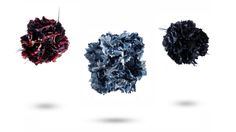Carnation flower pin  with feathers... shop.maisonf.com