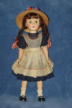 Very-Pretty-18-Madame-Alexander-Margaret-OBrien-Composition-Doll