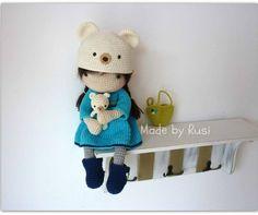 Aliya-my new doll Now in my Etsy shop www.etsy.com/shop/RusiDolls #crochet #crochetdoll #amigurumi #amigurumidoll #amigurumibear #madebyrusi #rusidolls