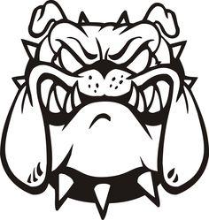 free bulldog clipart pictures clipartix 2 crafts pinterest rh pinterest com free french bulldog clipart free bulldog clipart images